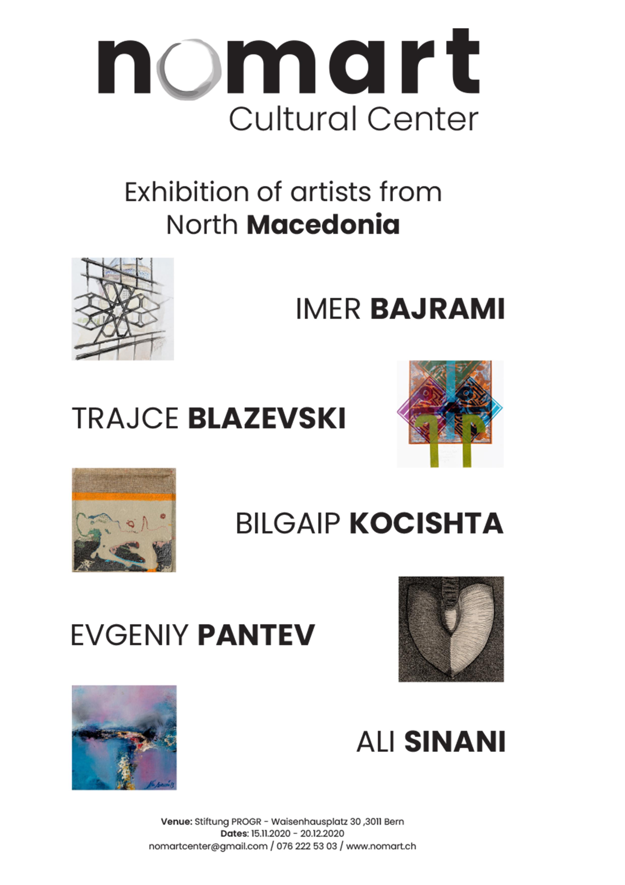 nomart exhibition poster 2020